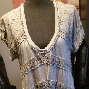 Womens pull on Tunic